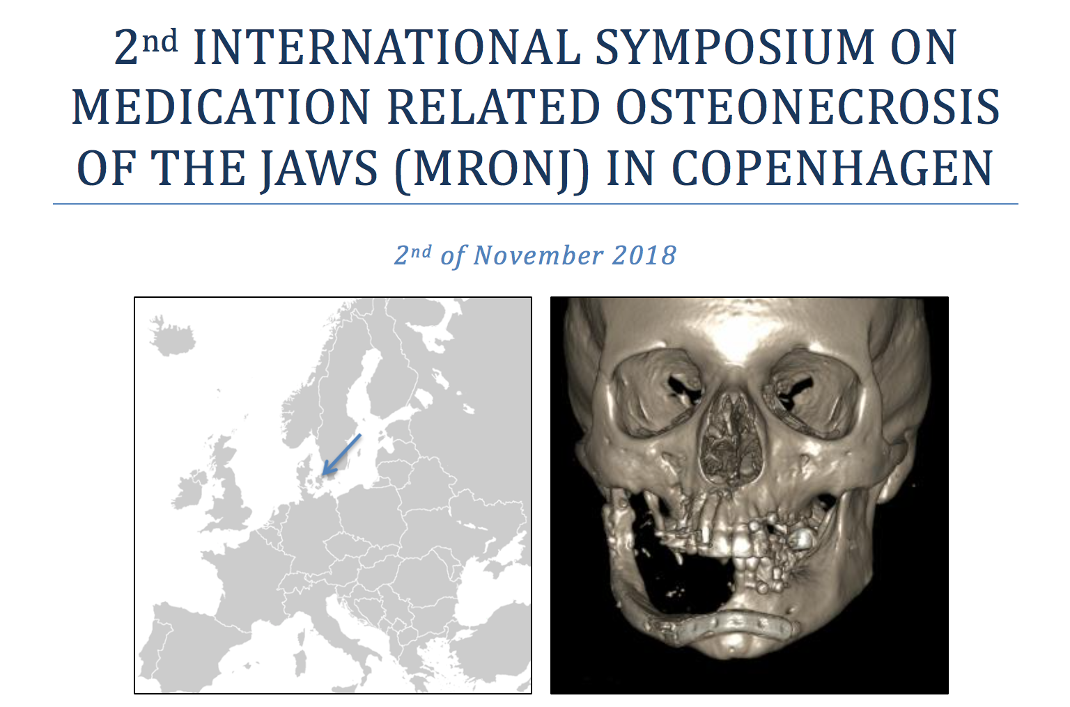 2nd international symposium on medication related osteonecrosis of the jaws (MRONJ)