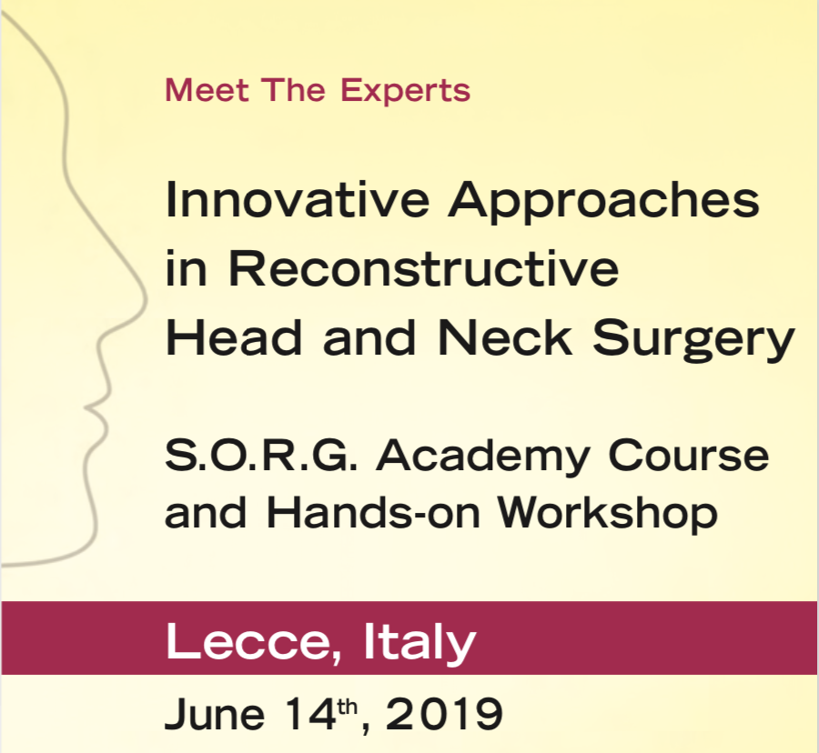 Innovative Approaches in Reconstructive Head and Neck Surgery